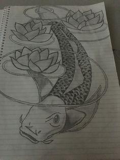 Koi Design #not my design #Tattoo