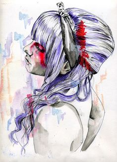 1000+ images about watercolour and pen on Pinterest ...