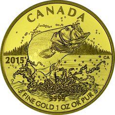200 Dollar Gold Forellenbarsch PP