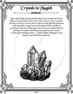 Crystals in Magic Page 11 of 11