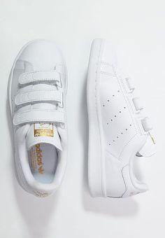 0c2c00ae32d3c Baskets basses adidas Originals STAN SMITH - Baskets basses - weiß gold  blanc  94