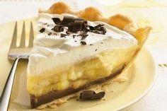 Chocolate Banana Cream Pie 1 pie crust (9 inch deep dish, baked and ...