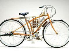 おもろい自転車型バイクは本当におもろいやん。   炎の鍛錬指導 岩崎輝雄