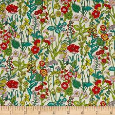 Liberty of London Tana Lawn Fabric Flowers NEW 2016 Liberty tissu Textile Prints, Textile Design, Fabric Design, 3d Design, Liberty Art Fabrics, Liberty Print, Textures Patterns, Fabric Patterns, Art Patterns