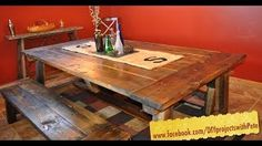 How to build a Farmhouse Table - The Most Complete Video Online - Episode 7 - YouTube
