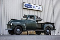 A Farm Fresh 1953 Chevy Pickup that stopped by the Eastwood outlet recently.