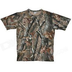 Ranger Camo Hunting Woodland T-Shirt - Camouflage (XL) Price: $17.00