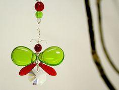 Christmas Ornament Swarovski Crystal by MobileSuncatchers on Etsy