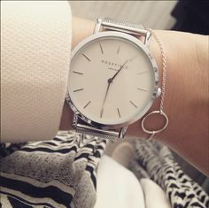 This gorgeous Silver Mercer is our best seller. Are you surprised? We're not! :) @rosefieldwatch