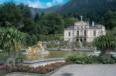 Linderhof Palace outside Munich
