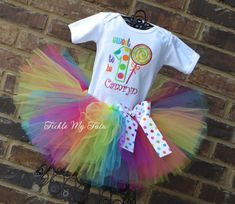 Polka Dot Candy Shop Birthday Tutu Outfit Sweet by TickleMyTutu, $54.95