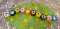 Húsenička pre najmenších s číslami