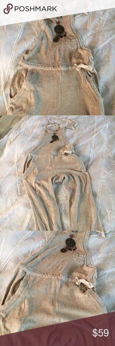 Snow peak bib outfit Snow Peak linen / cotton bib backless overalls Snow Peak  Other