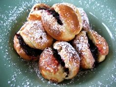"""Ebelskivers"" Scandinavian Pancakes, little, puffy pancakes to fill with apples, or jam, or lemon curd, or..... :)"