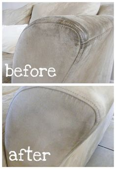 The Complete Guide to Imperfect Homemaking: How to Clean a Microfiber Sofa