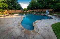 Allison Pools - Freeform Swimming Pool (Texas Pool) | by Allison Pools