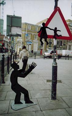 Street Art.  Darius & Downey, London