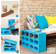 Ideas For Cheap Patio Furniture Ideas Rustic Cheap Patio Furniture, Crate Furniture, Diy Furniture Projects, Repurposed Furniture, Rustic Furniture, Cool Furniture, Painted Furniture, Furniture Stores, Cinder Block Furniture