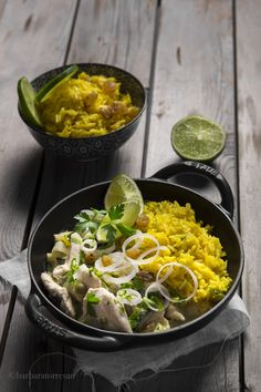 Curry di pollo con r