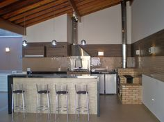 Barbacoa, Bbq Grill, My Dream Home, My House, Kitchen, Table, Furniture, Design, Home Decor