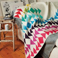 I just had a chance to look though issue 30 of @lovequiltingmag and I love the picture they took of my quilt!!!! #lovepatchworkandquilting