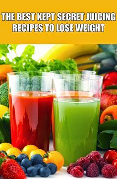 4 Best Kept Secret Juicing Recipes To Lose Weight