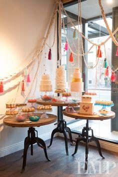 cupcake  cake display