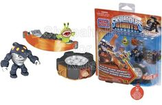Smash through the competition with Terrafin's Battle Portal by Mega Bloks Skylanders Giants! Set this Earth Skylander on the Battle Portal with light up features and aim for the battle bumper to knock and collect loot items. Practice your battle skills in target or rebound mode or combine with the Ultimate Battle Arcade to compete with friends! - To order: http://www.shopaholic.com.ph/toys.html#!/Mega-Bloks-Skylanders-Giants-Terrafin's-Battle-Portal/p/43443340/category=6708182