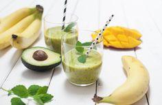 Green Avocado Petersilie Smoothie - voll gut und gut voll -