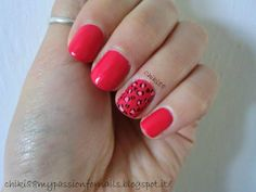 CHIKI88...  my passion for nails!: Leopard nail art!