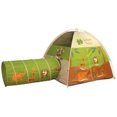 Safari Tent and Tunnel = my kids going nuts