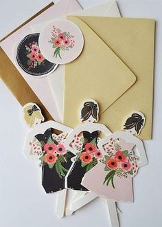 Asking your friends to be bridesmaids with cute Bridesmaids Cards !!