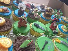 Peter Pan inspired cupcakes