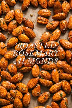 Rosemary Roasted Almonds / blog.jchongstudio.com