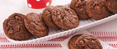 Enjoy these delicious chocolate and cappuccino cookies – a perfect dessert.
