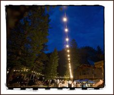 reception lighting at a Lake Tahoe wedding  at the Painted Rock Lodge along the Truckee River #laketahoewedding #tahoewedding #paintedrocklodge  © www.tahoeweddingphotojournalism.com
