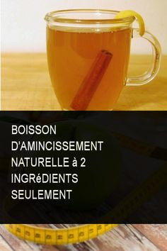 Boisson d'amincissement naturelle à 2 ingrédients seulement #Naturelle #Ingredient #Ingredients #Amincissement #Boisson Ground Turkey Nutrition, Little Gardens, 200 Calories, Cocktails, Drinks, Dessert, Cellulite, Under The Sea, Detox