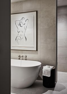 Classic. East Melbourne, bathroom interior design / Bates Smart