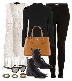 """Style #9572"" by vany-alvarado ❤ liked on Polyvore featuring Topshop, New Look, Prada, 3.1 Phillip Lim, Yves Saint Laurent and Forever 21"