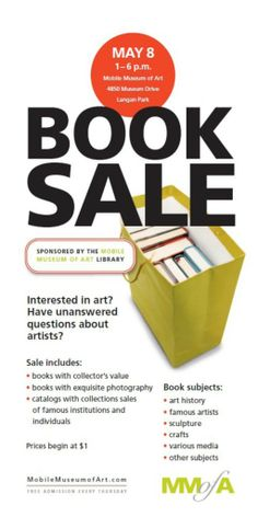 Book sale poster