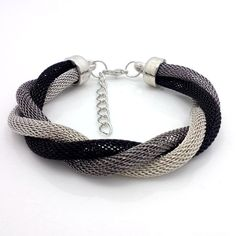 Items similar to Mesh tube woman,girl,unisex, beautiful bracelet,cuff,wire mesh woven on Etsy
