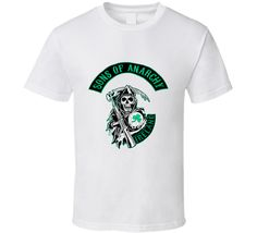 Sons of anarchy Ireland St. Patrick's day graphic tshirt