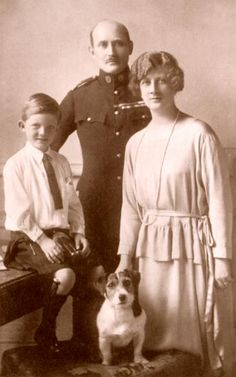 Prince and Princess Arthur of Connaught, with their son Alastair Windsor. Arthur was the son of Victoria and Albert.