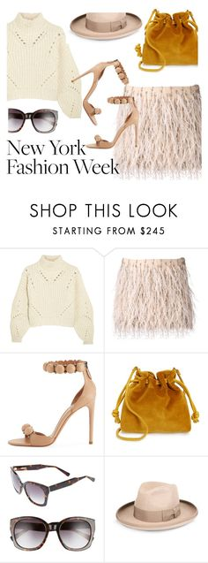 """""""NYFW"""" by marie-de ❤ liked on Polyvore featuring Isabel Marant, Haute Hippie, Alaïa, Clare V., Derek Lam and STELLA McCARTNEY"""