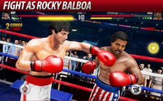 Real Boxing 2 ROCKY v1.7.0 [Mod Money]   Real Boxing 2 ROCKY v1.7.0 [Mod Money]Requirements: 4.4Overview: Take the fight to the next level in Real Boxing 2 CREED - the official mobile game of the movie CREED!  Train with the legendary Rocky Balboa and become the World Champion in the sequel to the award winning Real Boxing. Ready for Round 2? ------------------------ Really dang impressive. - 148Apps  Im excited.  TouchArcade  The sequel looks stunning.  AppAdvice…