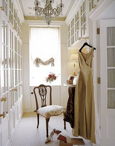 Dressing room by Alessandra Branca #closet #interior_design