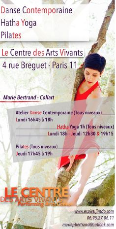 Marie Bertrand-Collart Danse Contemporaine, Pilates, Stretching, Hatha Yoga, Paris Paris 11, Yoga Pilates, Yoga Art, Marie, Crochet Hats, Stretching, Contemporary Dance, Knitting Hats, Stretching Exercises