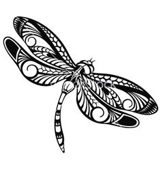 Image result for dragonfly vector art