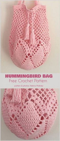 Hummingbird Market Bag Crochet Free Pattern- Market Grocery PatternsHummingbird Market Tote Bag Free Crochet PatternMeet Me at the Market Crochet Grocery BagSewing Pattern To Make A Reusable Grocery Bag - This… Mode Crochet, Bag Crochet, Crochet Market Bag, Crochet Handbags, Crochet Purses, Crochet Crafts, Crochet Stitches, Crochet Hooks, Crotchet