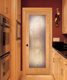 Harvest casting interior door